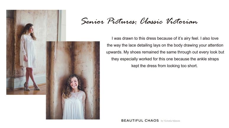senior pictures- classic victorian
