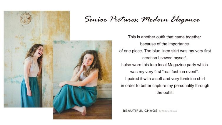 senior pictures - modern elegance