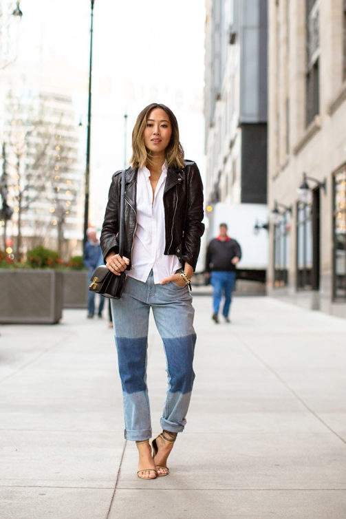 aimee_song_short_hair_leather_jacket_boyfriend_jeans_with_patchwork